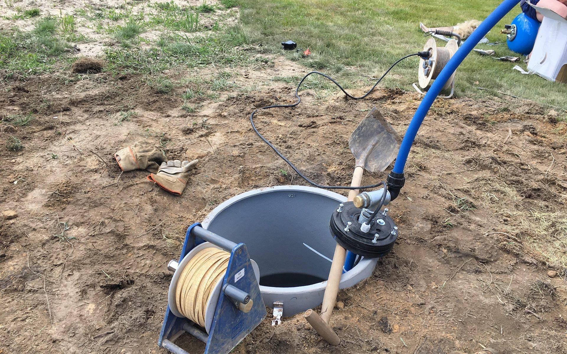 Studnia głębinowa - odwierty